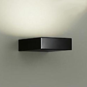 DAIKO LEDブラケット 白熱灯風調光タイプ 電球色~キャンドル色 密閉型 白熱灯60Wタイプ 上向付・下向付兼用 カバーバネ式 《温調》 ブラック DBK-39416