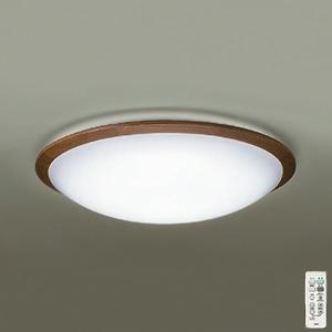 DAIKO LEDシーリングライト ~10畳用 プルレス調色・調光タイプ(昼光色~電球色) 51W タイマー付リモコン付属 ウォールナット色 DCL-39448