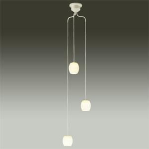 DAIKO LEDシャンデリア 吹抜け・傾斜天井用 白熱灯60W×3灯タイプ 非調光タイプ 電球色 4.7W×3灯 口金E17 ランプ付 カバーネジモーガル式 DCH-39473Y