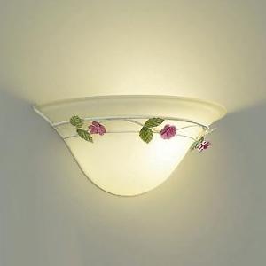 DAIKO LEDブラケットライト ランプ付 ハンドメイド品 白熱灯60W相当 非調光タイプ 4.7W 口金E17 電球色タイプ アイボリーアンティーク色 DBK-39486Y