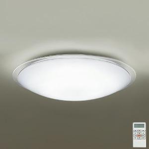 DAIKO LEDシーリングライト ~14畳用 プルレス調色・調光タイプ(昼光色~電球色) 52W タイマー付リモコン付属 アクリル・透明 DCL-39684