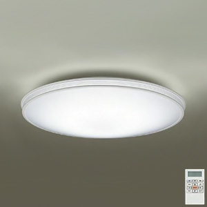 DAIKO LEDシーリングライト ~10畳用 プルレス調色・調光タイプ(昼光色~電球色) 42W タイマー付リモコン付属 ホワイト DCL-39685