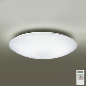 DAIKO LEDシーリングライト ~12畳用 プルレス調色・調光タイプ(昼光色~電球色) 46W タイマー付リモコン付属 アクリル・乳白(マット・模様入) DCL-39689