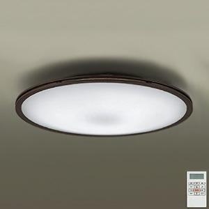 DAIKO LEDシーリングライト ~14畳用 プルレス調色・調光タイプ(昼光色~電球色) 52W タイマー付リモコン付属 ダークブラウン DCL-39711