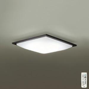 DAIKO LEDシーリングライト ~10畳用 プルレス調色・調光タイプ(昼光色~電球色) 51W タイマー付リモコン付属 ダークブラウン DCL-39725