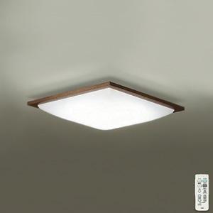 DAIKO LEDシーリングライト ~10畳用 プルレス調色・調光タイプ(昼光色~電球色) 51W タイマー付リモコン付属 ウォールナット色 DCL-39728