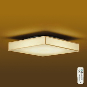 DAIKO LED和風シーリングライト ~6畳 調色・調光タイプ(昼光色~電球色) クイック取付式 リモコン・プルレススイッチ付 DCL-39731