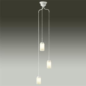 DAIKO LEDシャンデリア 吹抜け・傾斜天井用 白熱灯60W×3灯タイプ 非調光タイプ 電球色 4.7W×3灯 口金E17 ランプ付 DCH-39766Y
