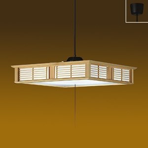 DAIKO LED和風ペンダントライト ~8畳 昼白色 非調光タイプ LED内蔵53W プル・プルレス兼用 引掛シーリング取付式 DPN-39771W