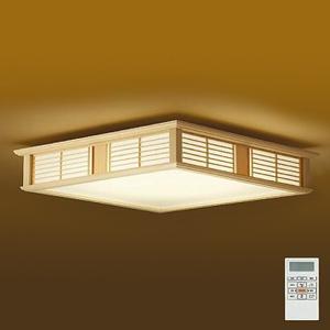 DAIKO LED和風シーリングライト ~14畳 調色・調光タイプ(昼光色~電球色) クイック取付式 リモコン・プルレススイッチ付 DCL-39778
