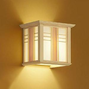 DAIKO LED和風ブラケットライト 電球色 非調光タイプ E17口金 白熱灯60Wタイプ 壁面取付専用 DBK-39779Y
