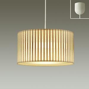 DAIKO LED和風ペンダントライト 電球色 非調光タイプ E26口金 白熱灯100Wタイプ 引掛シーリング取付式 DPN-39781Y