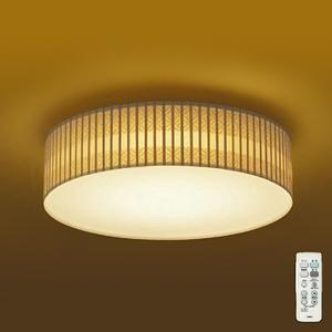 DAIKO LED和風シーリングライト ~8畳 調色・調光タイプ(昼光色~電球色) 引掛シーリング取付式 リモコン・プルレススイッチ付 DCL-39782