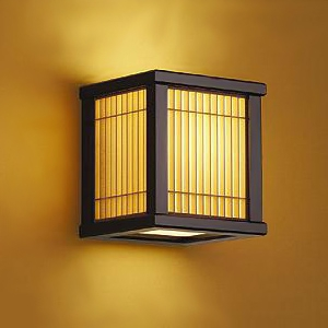 DAIKO LED和風ブラケットライト 電球色 非調光タイプ E17口金 白熱灯60Wタイプ 壁面取付専用 DBK-39879Y