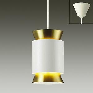 DAIKO LEDペンダントライト 電球色 非調光タイプ E17口金 白熱灯60Wタイプ 端子台木ネジ取付方式 白サテン塗装 DPN-39894Y