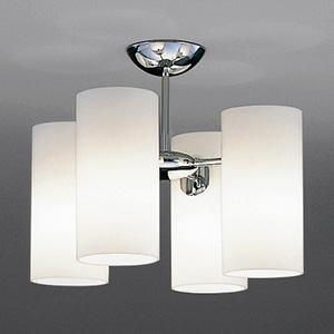 山田照明 LEDランプ交換型シャンデリア 白熱160W相当 非調光 LED電球5.2W×4 電球色 E17口金 ランプ付 CD-4321-L