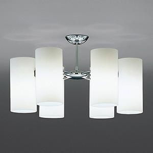 山田照明 LEDランプ交換型シャンデリア 白熱240W相当 非調光 LED電球5.2W×6 電球色 E17口金 ランプ付 CD-4322-L