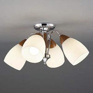 山田照明 LEDランプ交換型シャンデリア ~6畳用 非調光 LED電球7.8W×4 電球色 E26口金 ランプ付 CD-4324-L