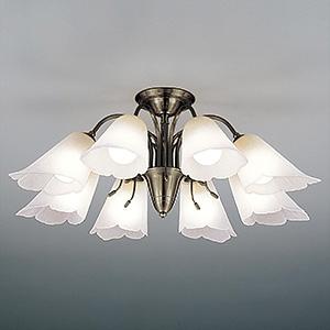 山田照明 LEDランプ交換型シャンデリア ~12畳用 非調光 LED電球7.8W×8 電球色 E26口金 ランプ付 CD-4329-L