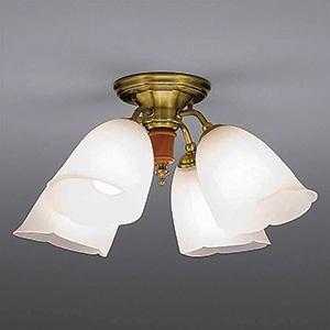 山田照明 LEDランプ交換型シャンデリア ~6畳用 非調光 LED電球7.8W×4 電球色 E26口金 ランプ付 CD-4330-L