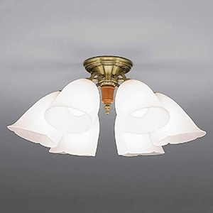 山田照明 LEDランプ交換型シャンデリア ~10畳用 非調光 LED電球7.8W×6 電球色 E26口金 ランプ付 CD-4331-L