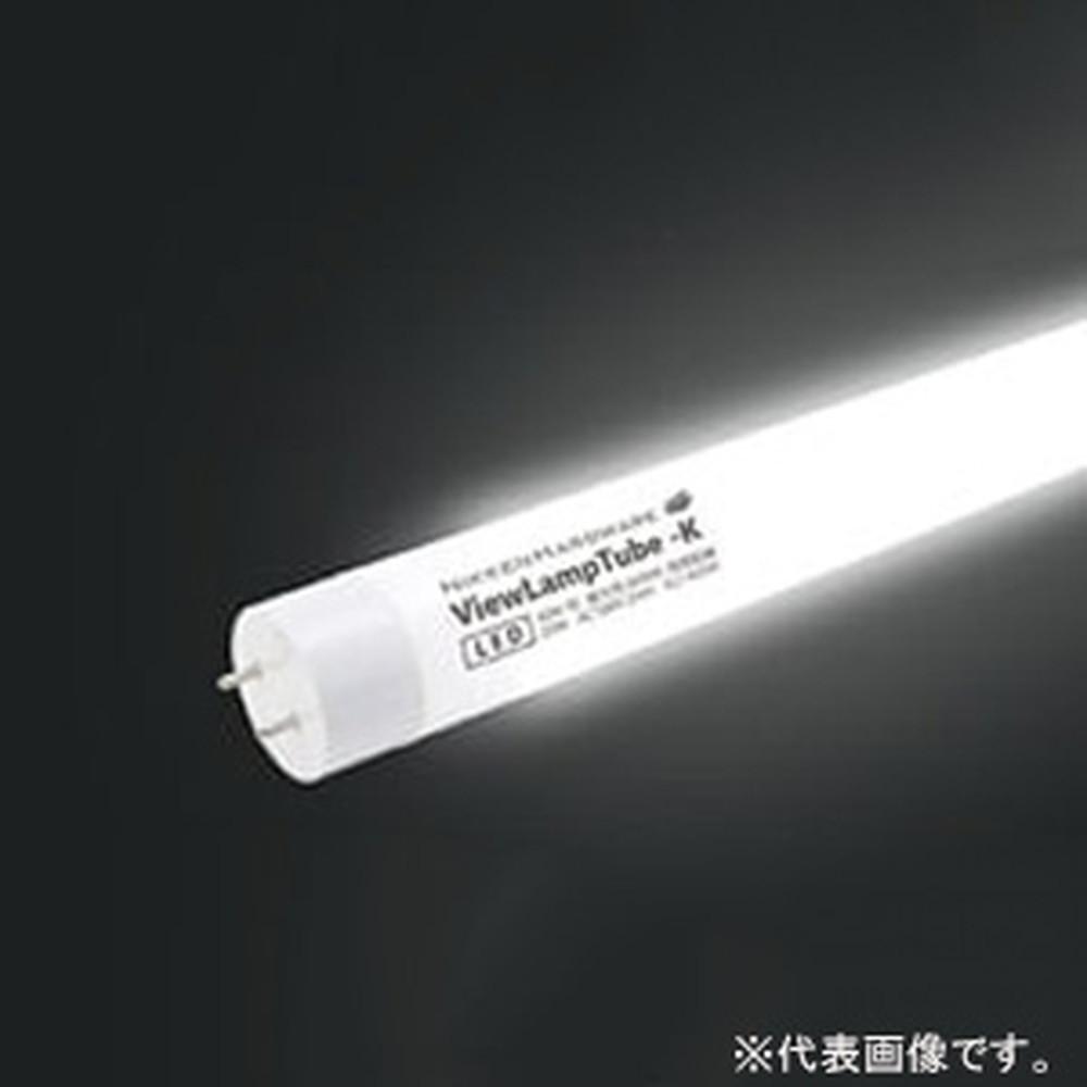 ニッケンハードウエア 直管型LED蛍光灯 《ViewLampTube》 即日出荷 内照看板用 40W形 ファサード用 マーケティング 昼光色 電源内蔵式 G13口金 片面300°発光 VLT-K20W