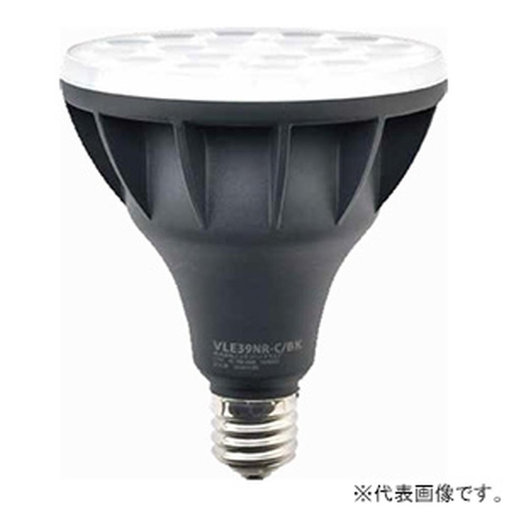 ニッケンハードウエア LED電球 《ViewLamp》 バラストレス水銀ランプ300W形 縦型看板用 狭角40° 昼光色 E39口金 ブラック VLE39NR-C/BK