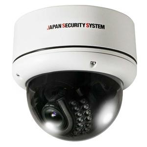 日本防犯システム 屋外用IRドームカメラ EX-SDI対応2.2メガピクセル JS-CH2021