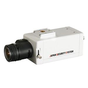 日本防犯システム 屋内用ボックスカメラ AHD対応2.2メガピクセル レンズ別売 JS-CA1012