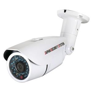 日本防犯システム 屋外用IRカメラ AHD対応1.3メガピクセル 3.6mmレンズ 専用取付けブラケット付 PF-AHD1211F