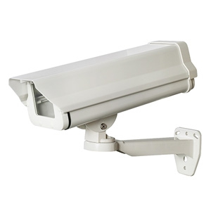 日本防犯システム ダミー防犯カメラ ロングハウジング内蔵型 屋外用 PF-EA711
