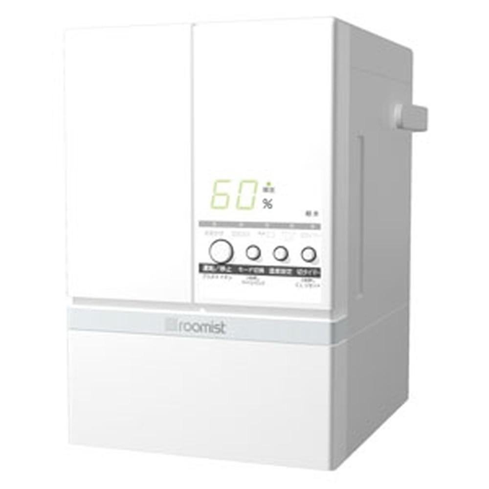 三菱重工冷熱 スチームファン蒸発式加湿器 《ルーミスト》 おもに10畳用 イオンフィルター搭載タイプ 加湿量600ml/h ピュアホワイト SHE60SD(-W)