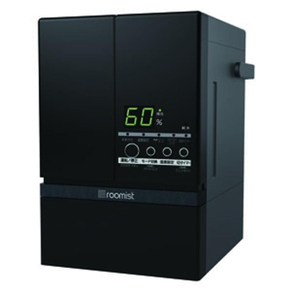 三菱重工冷熱 スチームファン蒸発式加湿器 《ルーミスト》 おもに10畳用 イオンフィルター搭載タイプ 加湿量600ml/h ブラック SHE60SD(-K)