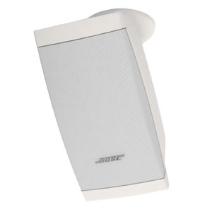 BOSE スピーカー DS露出型 天井吊タイプ 40W 天井吊ブラケット付属 全天候仕様 ホワイト DS40SEW-CMB