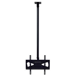 スタープラチナ TVセッターハング ロングパイプ M/Lサイズ W534×H1605×D120mm 角度調節機能付 スチール製 TVSHGPS101LONGMB