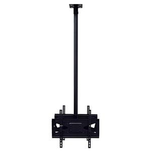スタープラチナ TVセッターハング ロングパイプ M/Lサイズ 両面吊りタイプ W534×H1605×D214mm 角度調節機能付 スチール製 TVSHGPS102LONGMB