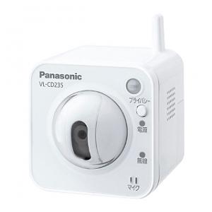 パナソニック センサーカメラ 屋内タイプ ワイヤレス接続タイプ Wi-Fi対応 ACアダプター付 VL-CD235