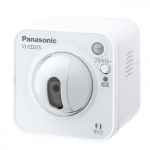 パナソニック センサーカメラ 屋内タイプ LAN接続タイプ ACアダプター付 VL-CD215