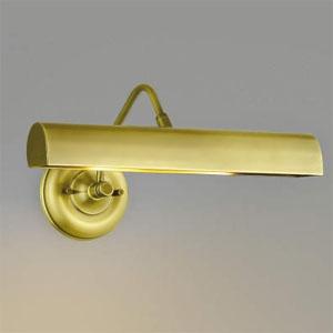 コイズミ照明 LEDピクチャーライト LEDランプ交換可能型 白熱球40W×2灯相当 電球色 6.0W×2灯 口金E17 しんちゅう古美メッキ AB38579L