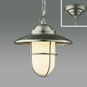 コイズミ照明 LEDペンダントライト LEDランプ交換可能型 フランジタイプ 白熱球40W相当 電球色 5.8W 口金E17 ホワイトブロンズメッキ AP40601L