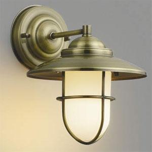 コイズミ照明 LEDブラケットライト LEDランプ交換可能型 白熱球40W相当 電球色 5.8W 口金E17 金古美色メッキ AB40606L