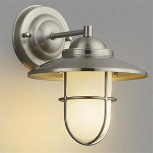コイズミ照明 LEDブラケットライト LEDランプ交換可能型 白熱球40W相当 電球色 5.8W 口金E17 ホワイトブロンズメッキ AB40607L