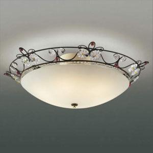 コイズミ照明 LEDシーリングライト 《グラナータ》 ~4.5畳用 LEDランプ交換可能型 電球色 5.8W×6灯 口金E17 取付簡易型 AH40672L
