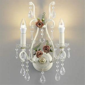 コイズミ照明 LEDブラケットライト 《ロザーチェ》 LEDランプ交換可能型 白熱球40W×2灯相当 電球色 5.0W×2灯 口金E17 AB40902L