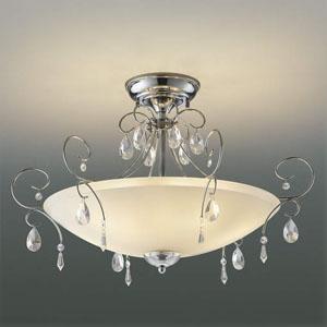 コイズミ照明 LEDシーリングライト 《オレッキーノ》 LEDランプ交換可能型 白熱球40W×6灯相当 電球色 5.8W×6灯 口金E17 取付簡易型 AH40905L