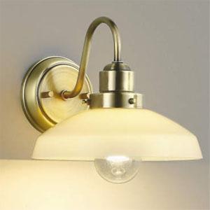 コイズミ照明 LEDブラケットライト LEDランプ交換可能型 白熱球60W相当 電球色 6.4W 口金E26 乳白色 AB43547L