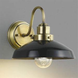 コイズミ照明 LEDブラケットライト LEDランプ交換可能型 白熱球60W相当 電球色 6.4W 口金E26 黒色塗装 AB43548L
