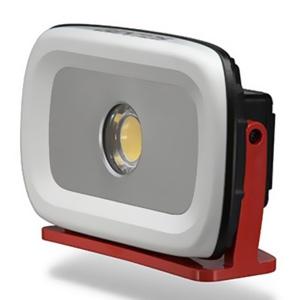 ジェントス LED投光器 《GANZ》 充電式タイプ COBLED×1灯 35W 1300~4200lm AC電源ケーブル付 GZ-303