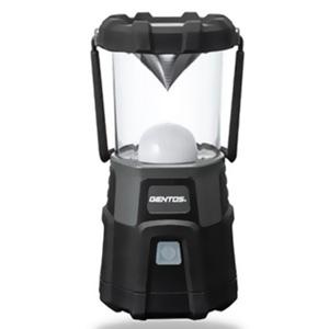 ジェントス 充電式LEDランタン 耐塵・2m防水タイプ 白色・暖色LED×各18灯 1000lm USBケーブル付 EX-000R