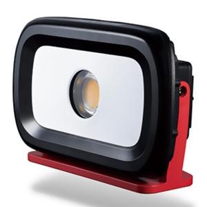 ジェントス LED高演色投光器 《GANZ》 充電式タイプ COBLED×1灯 35W 3200lm ACアダプター付 GZ-303SU